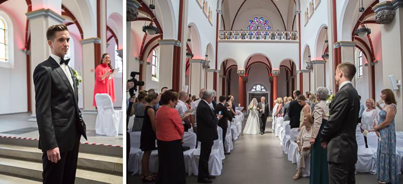 15_hochzeitsreportage_Klosterkirche_Hennef_einzug